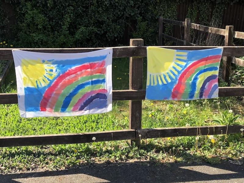 Rainbows - Stay Safe