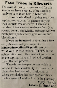 Original article as featured in March 2020 edition of the Kibworth & District Chronicle
