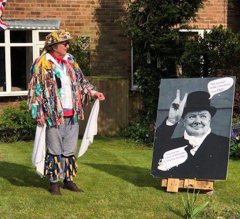 Winston Churchill addresses Mowsley residents