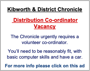 Advertising with the Kibworth & District Chronicle