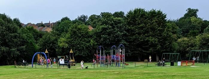 Kibworth Beauchamp Parish Update, Warwick Road Play Area