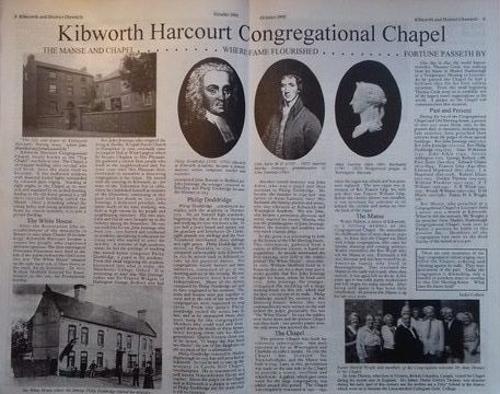 Isobel's 'Looking Back' article, The Congregational Church
