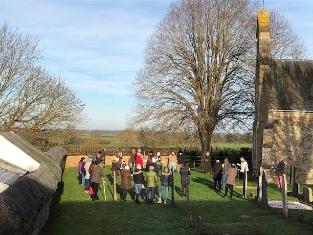 St Luke's Christmas day Service