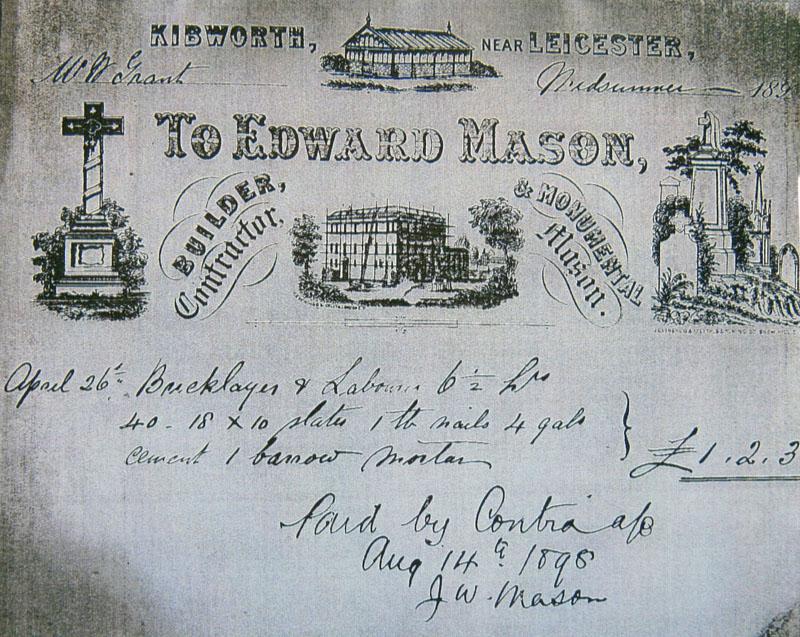 Multi-tasking Victorian - Bill of Sale