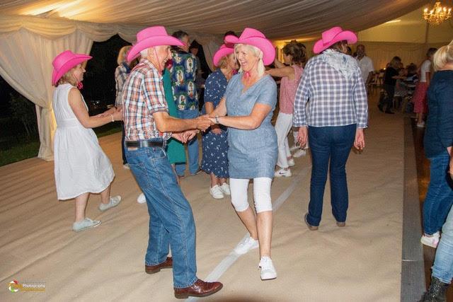 Summer in Smeeton. Photo of Barn Dance