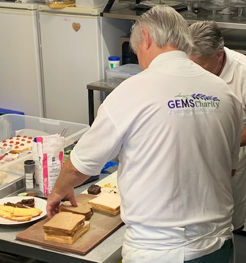GEMS Leicestershire Hospitals Appeal, volunteers in action photo