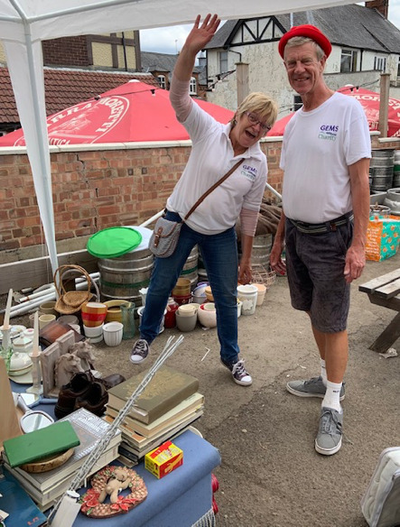 GEMS Leicestershire Hospitals Appeal, Clutter Sale photo
